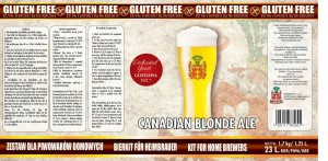 Canadian Blonde Ale Bezglutenowy 1.7kg