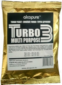 Drożdże Turbo Alcopure Turbo 3 130g